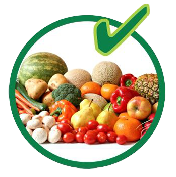 Organic recycling - fruits and vegetables are allowed.
